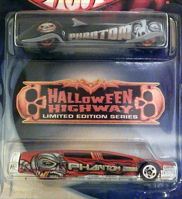 Hot Wheels 2004 Halloween Highway SYD Mead s Sentinel 400 Limo Phantastique - $9.11
