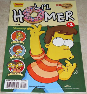 THE SIMPSONS L'IL HOMER #1 BONGO COMICS