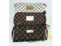 Louis Vuitton Eva Clutch Bag (3 Designs)