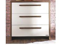Izziwotnot Latitude chest of drawers walnut