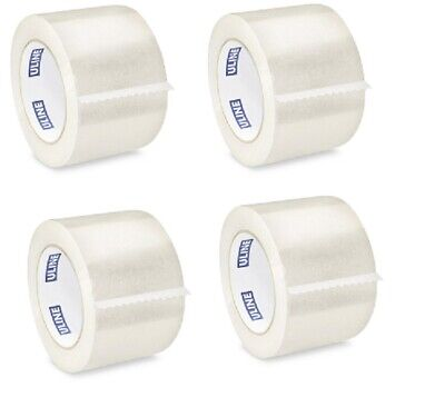 ULINE Clear Packing & Shipping Tape S-445  3in x 110yds 2mil (4pack)