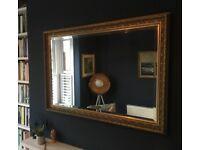 Nice gold mirror