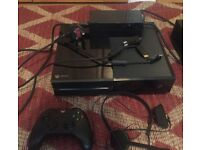 Xbox one with 75 games and accessories