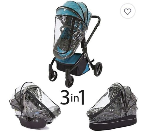 Guzzie + Guss 3 in 1 rain cover for stroller bassinet car seat