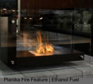 Planika Ethanol Fireplace Like New - used a couple of times