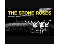 4 tickets to The Stone Roses at Wembley