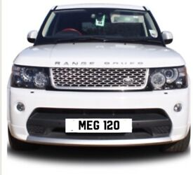 **Private Number Plate**