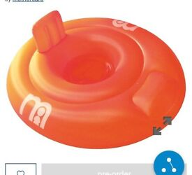 Mothercare inflatable Baby swim ring