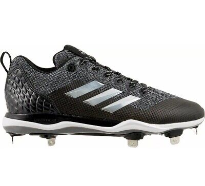 4086f040db41 Adidas Power Alley 5 Men's Baseball Softball Cleats AC8386 Black Size 10 1/2