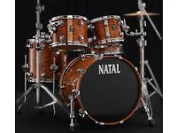 Natal bubinga drum kit (shell pack)