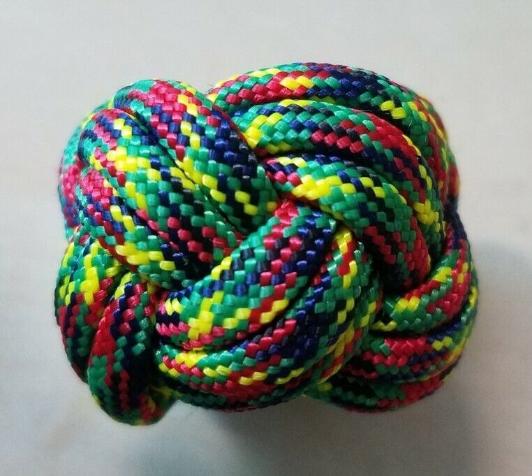 Paracord Neckerchief Woggle Slide - WEBELOS COLORS - Cub Scouts Boy Scouts BSA