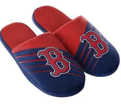 Boston Red Sox Big Logo Slide Slippers New Style MLB  Boston Red Sox Mlb Slippers