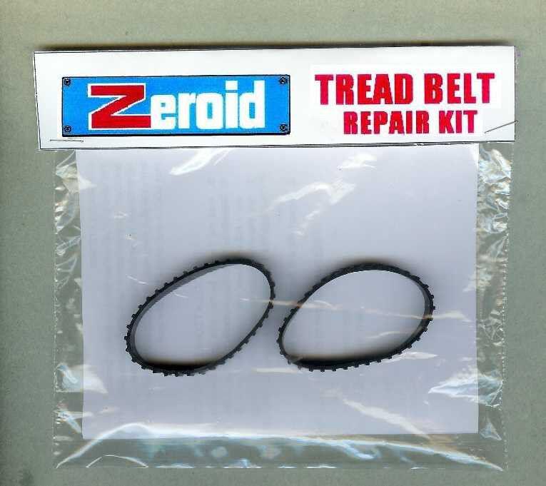 Tread Belts Zeroid Robot NEW Matt Mason Zerak, Zintar, Zobar, Zemo Ideal