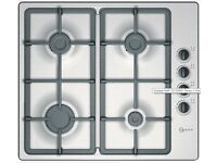 Neff T21S36N1 Series 1 Gas Hob in Stainless Steel (HOB-701) RRP £279