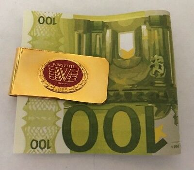 Honda Wing Elite Money Clip 1985 Extremely Rare Nice Jewelry 01-100
