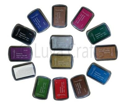Dovecraft Premium Pigment Ink Pad Non-Toxic Acid Free - Choice of Colours