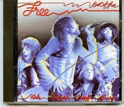 SIMON KIRKE'S  FREE * ROCK GROUP FROM 70S: 1972*  THE BEST OF FREE  CD * (Best Rock Groups Of The 70s)