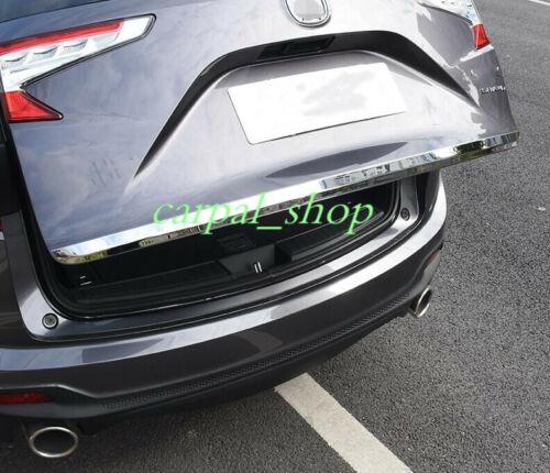 Chrome Front Bumper+Rear Trunk Lid Decorative Cover Trim