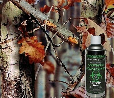 Hydrographic Film Water Transfer Hydro Dip 6oz. Activator Late Fall Camo Kit