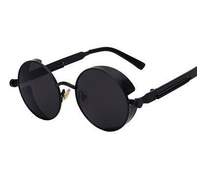 Polarized Vintage Steampunk Sunglasses Retro Men Women Fashion Glasses Brand