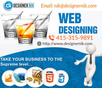 Does your domain require a customized website and logo?