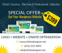 Complete Website Package - $500