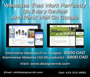 If you need website designer lets contact us!