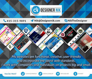 Need a Logo design, website, business card, brochure or flyer?