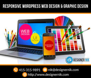 Responsive web design that captivates visitors!