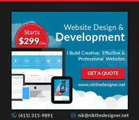 An exclusive discount, Build a website with $400.