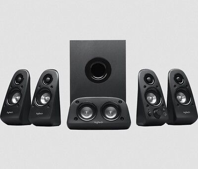 Logitech Z506 5.1 3D Surround Sound Lautsprechersystem Subwoofer 150 Watt Cinch