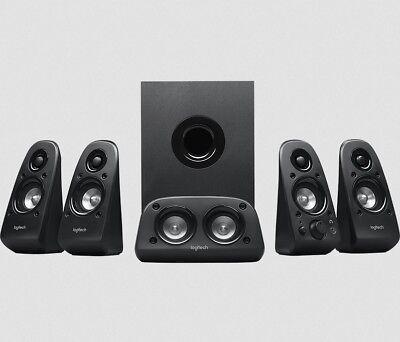 Logitech Z506 5.1 3D Surround Sound Lautsprechersystem Subwoofer 150 Watt Cinch