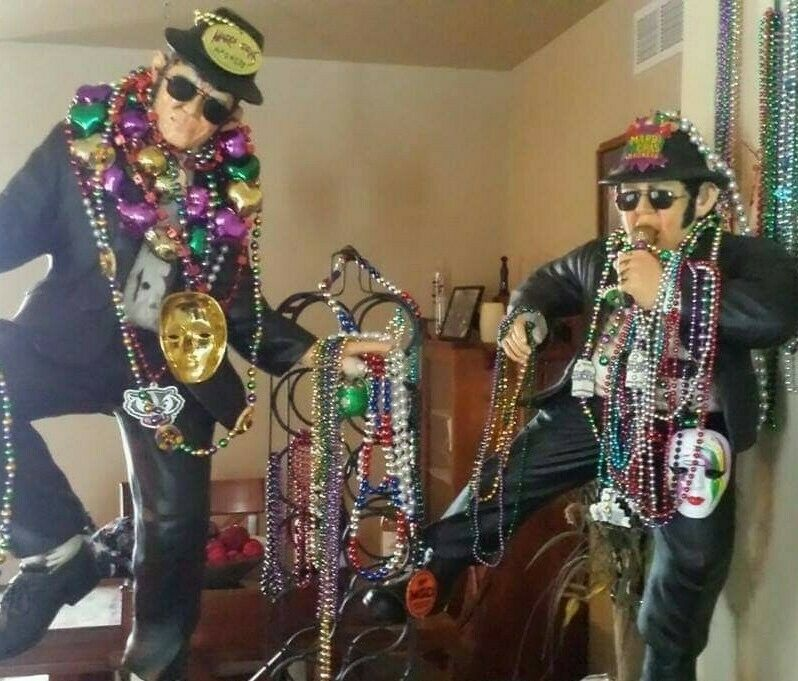Blues Brothers 3ft. Statues- Jake And Elwood- Very Good Condition!
