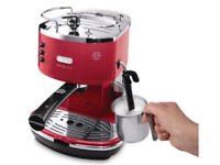 Delonghi Icona Espresso Coffee Maker Red