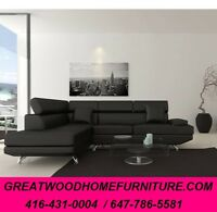 MODERN STYLE SECTIONAL..$699