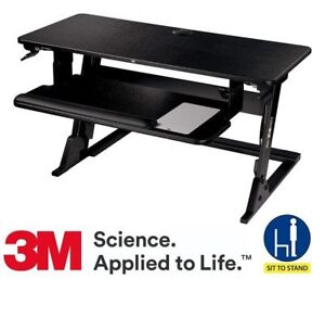 Standing Desk by 3M : Convert Desk from Sit to Stand - NEW