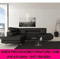 MODERN STYLE SECTIONAL...$699