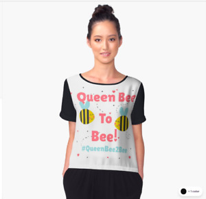 'Queen Bee To Bee' Merch - Ideal For Your Engaged Girlfriends!