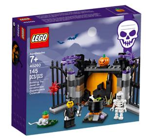 LEGO-GUARIDA-DE-HALLOWEEN-40260-NOVEDAD-DRACULA-ESQUELETO-VAMPIRO-CALABAZA-NEW