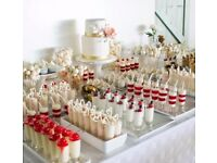 Indulgence Luxurious Mini & Large Dessert Table Display for Weddings, Parties & Events