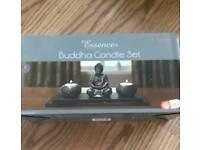 Buddha candle set