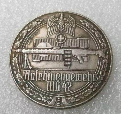 German Third Reich  WW2    ---    MG 42 Machine Gun Coin