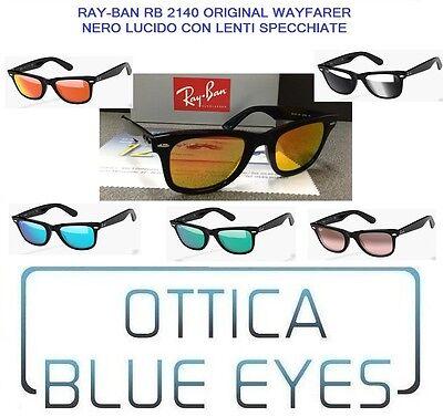 Occhiali da Sole RAYBAN 2140 ORIGINAL WAYFARER RB2140 CUSTOM MIRROR - Custom Wayfarer Sunglasses