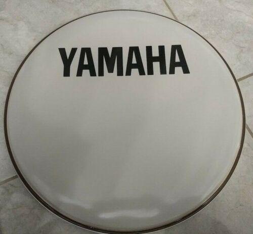 "Yamaha 20"" Smooth White Bass Drum Head Front Resonant"