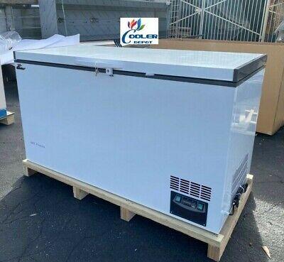 New -60c Medical Science Lab Deep Chest Freezer Low Temperature 388l 110v