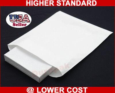 1000 White Kraft 10x13 Paper Merchandise Retail Bags Grocery Shopping Bag