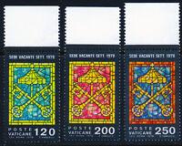 Vaticano 1978: 2° Sede Vacante Serie Completa Bordo Di Foglio (a) -  - ebay.it