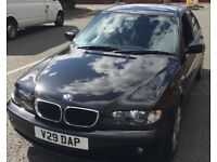 BMW 3 Series 2.00 320DES Full Service History Low Milage Black Fantastic Car Long MOT Urgent sale