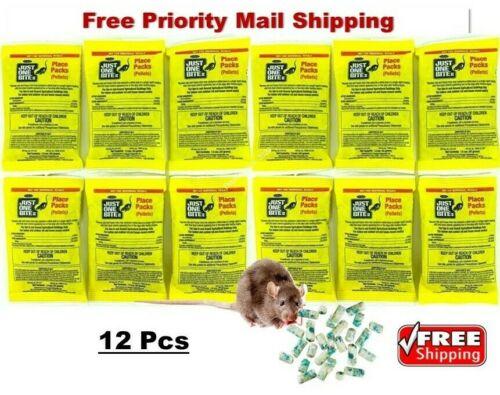 Just One Bite II Pellet Place Packs Rat & Mouse (12 PACKS) 1.5 oz pack