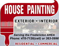 House Painting (New Construction, Renovations, Commercial)